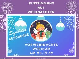 Webinar: Einstimmung auf Weihnachten mit den Seelen-Engeln