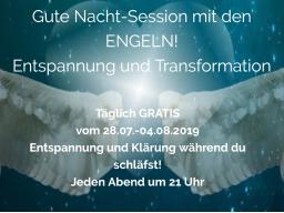Webinar: Gute-Nacht-Session mit den ENGELN - Tiefe Entspannung und Klärung während du schläfst!