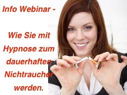 Webinar: Wie Sie mit Hypnose wieder Nichtraucher werden, Info-Webinar