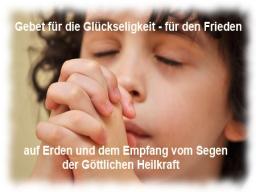 Webinar: Gebet der Ewigen Glückseligkeit und für den Weltfrieden