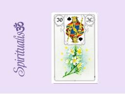 Webinar: ૐ  30 DIE LILIEN  ૐ     Themenreihe:  Meine spirituelle Reise durch das Lenormand- Karten-Deck!