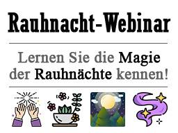 Webinar: Magie der Rauhnächte