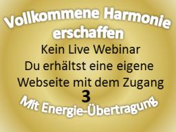 Webinar: 3. Heiler vollkommene Harmonie
