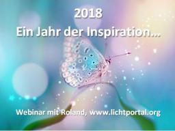 Webinar: 2018: Ein Jahr der Inspiration