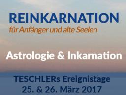 Webinar: Ereignistage: Astrologie und Reinkarnation