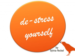 Webinar: de-stress yourself |►► Prioritäten