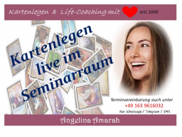 Webinar: 30 min Kartenlegen & Life-Coaching mit ❤