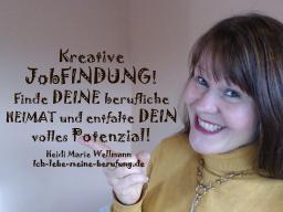 Webinar: Kreative JobFINDUNG - finde DEINE berufliche HEIMAT und entfalte DEIN volles Potenzial!