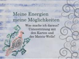 Webinar: Meine Energien meine Möglichkeiten!