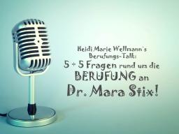 Webinar: Heidi Marie Wellmann´s Berufungs-Talk mit Mara Stix!
