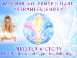 Webinar: Strahlen- und Engellehre | MEISTER VICTORY