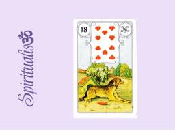 Webinar: ૐ  18 DER HUND  ૐ    Themenreihe:  Meine spirituelle Reise durch das Lenormand- Karten-Deck!