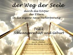 Webinar: Schwangerschaft und Geburt  der Weg der Seele in die Verkörperung - öffentlches Channeling - Sabine Richter
