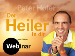 Webinar: Der HEILER in dir (inkl.Buch)