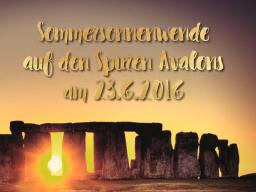 Webinar: Sommersonnenwende / Mitsommer auf den Spuren Avalons