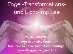Webinar: Die Reise in deine Bestimmung - Engel-Transformations- und Licht-Session!