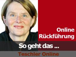 Webinar: Online Rückführung - so geht das...