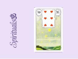 Webinar: ૐ  16 DIE STERNE  ૐ    Themenreihe:  Meine spirituelle Reise durch das Lenormand- Karten-Deck!