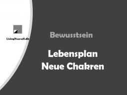 Webinar: Bewusstsein Lebensplan - Neue Chakren