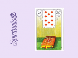 Webinar: ૐ  26 DAS BUCH  ૐ    Themenreihe:  Meine spirituelle Reise durch das Lenormand- Karten-Deck!