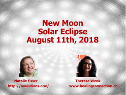Webinar: New Moon Solar Eclipse in Leo, August 11th 2018