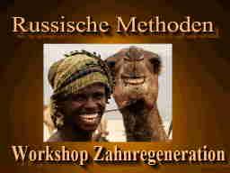 Webinar: Workshop Regeneration der Zähne