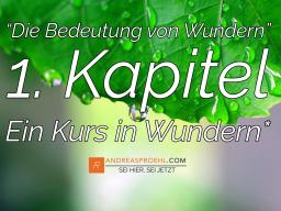 """Webinar: Tägl. morgens """"Die Wunderprinzipien des Kurs in Wundern"""""""