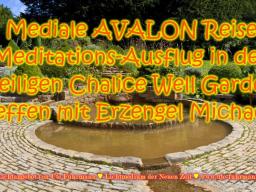 Webinar: Geführte AVALON Meditation im heiligen Chalice Well Garten