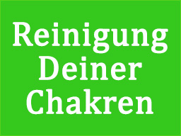 Webinar: Reinigung Deiner Chakren
