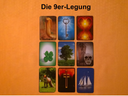 Webinar: Kartenlegen lernen: Die 9er-Legung (Lenormand)