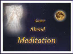 Webinar: Guten - Abend - Meditation