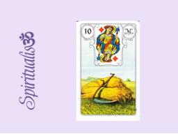 Webinar: ૐ  10 DIE SENSE ૐ     Themenreihe:  Meine spirituelle Reise durch das Lenormand- Karten-Deck!