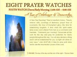 Webinar: VIERTE WACHE  | Eine Zeit der Befreiung und Auferstehung  (3 Uhr - 6 Uhr)  | FRÜHER MORGEN