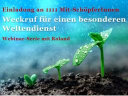 Webinar: Weckruf 1111 für einen besonderen Weltendienst (3)