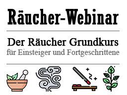Webinar: Der Grundkurs in Räuchern