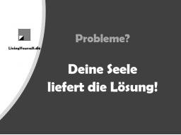 Webinar: Probleme? - Deine Seele liefert die Lösung!