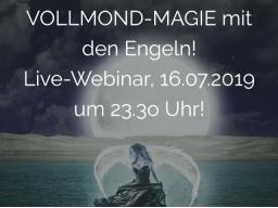 Webinar: VOLLMOND-MAGIE mit den ENGELN!