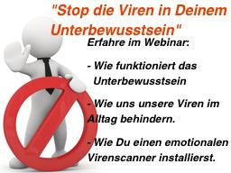 Webinar: Fällt heute wegen technischer Probleme leider aus.... Sorry - Die Viren deines Unterbewusstseins