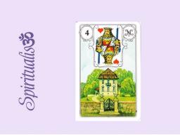 Webinar: ૐ  4 DAS HAUS ૐ   Themenreihe:  Meine spirituelle Reise durch das Lenormand- Karten-Deck!