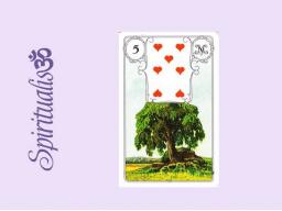 Webinar: ૐ  5 DER BAUM ૐ  Themenreihe:  Meine spirituelle Reise durch das Lenormand- Karten-Deck!