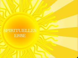 Webinar: SPIRITUELLES ERBE- Trainer: Saint von Lux