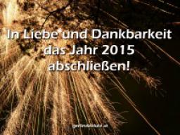 Webinar: In Liebe und Dankbarkeit das Jahr 2015 abschließen!