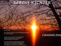 Webinar: zum Thema:Krebs - Teil 2 aus der Reihe Körper und Gesundheit - Öffentliches Channeling - Sabine Richter