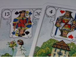 Webinar: ✿ Lenormand Kartenlegung 1 Frage 15 Min.