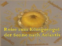 Webinar: Reise zum Königsengel der Sonne nach Atlantis