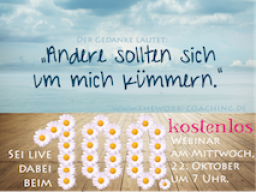 Webinar: Popcorn am Morgen - Das 100. Webinar mit The Work of Byron Katie