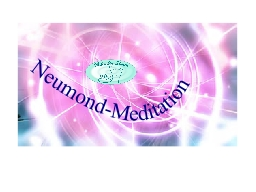 Webinar: Neumond-Meditation