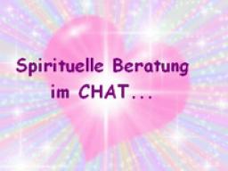 Spirituelle Beratung im CHAT (Einzelsitzung)