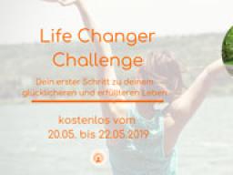 Webinar: Life Changer Challenge - kostenlos vom 20. bis 22. Mai 2019