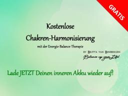Webinar: Kostenlose Chakren-Harmonisierung mit der Energie-Balance-Therapie